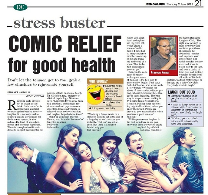 Comic Relief for good health